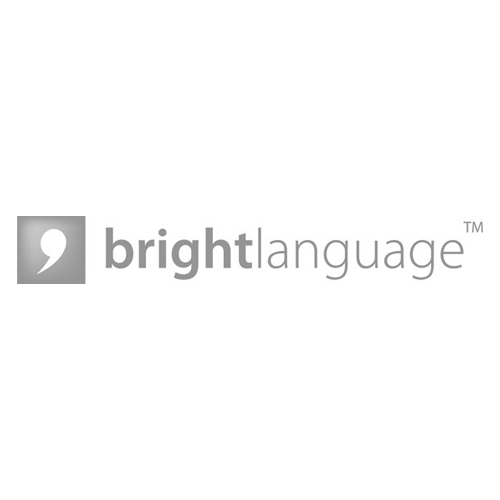 Bright language logo